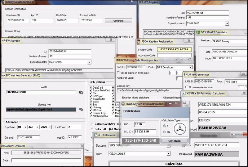 Benz wis keygen software reviewbertyl for Mercedes benz software