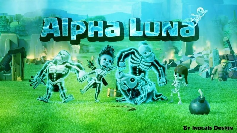 Alpha Luna Clash Royale