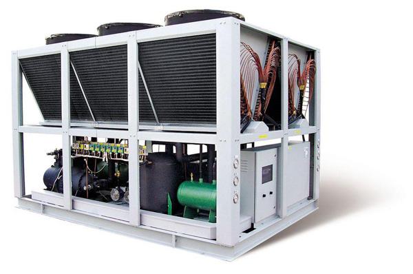 Máy làm lạnh nước - Máy Lạnh Chiller 120HP - R407-R410