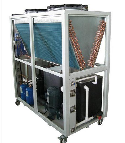 máy làm lạnh chiller gió giải nhiệt dùng gas R407C-R410A