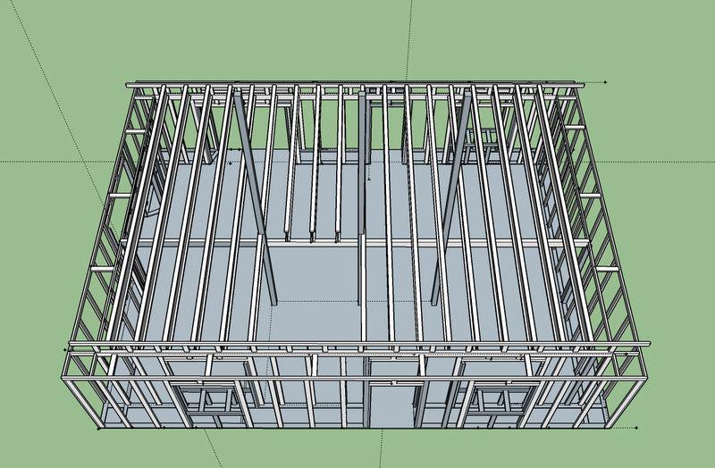 Ossature d 39 une maison greb en pologne for Application de construction de maison ipad